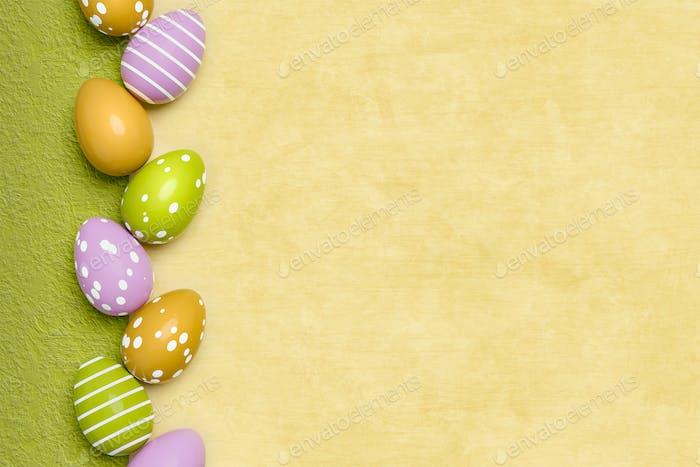 un hermoso Fondo de huevos de Pascua de colores
