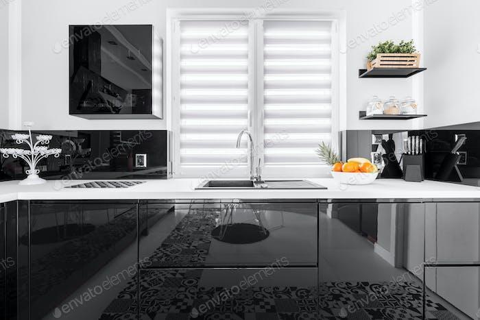 Up-to-date stylish kitchen