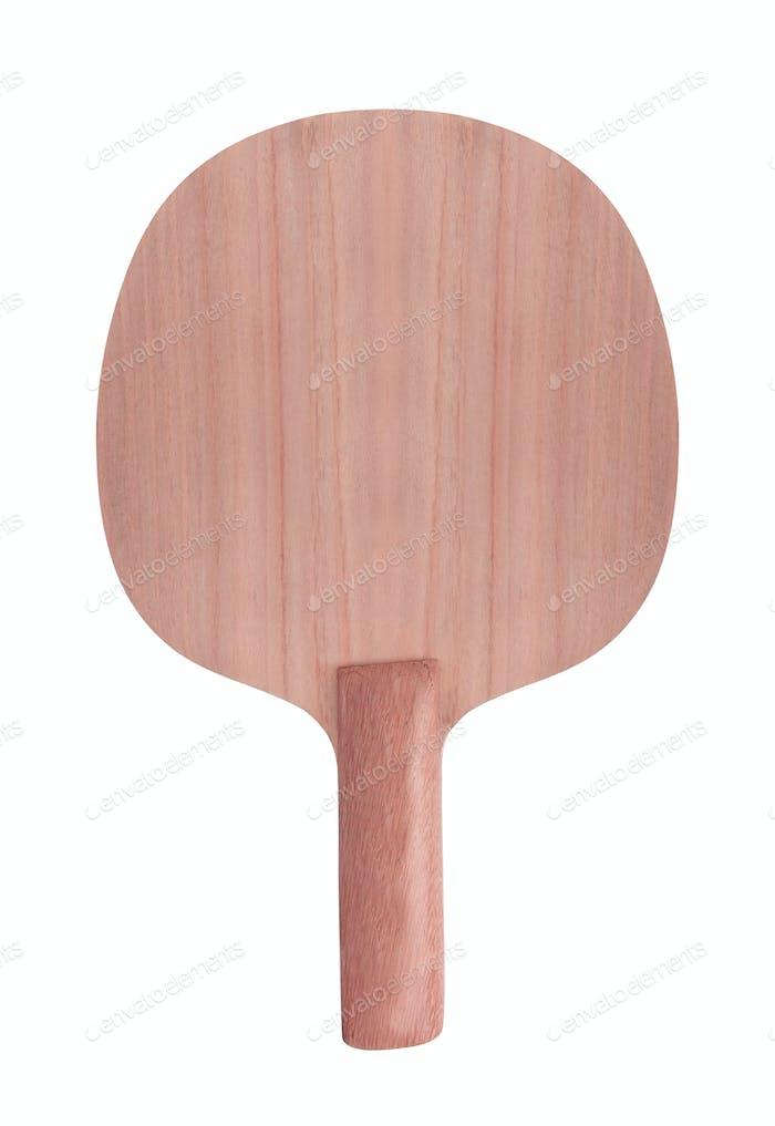 Tennis racket. Isolated