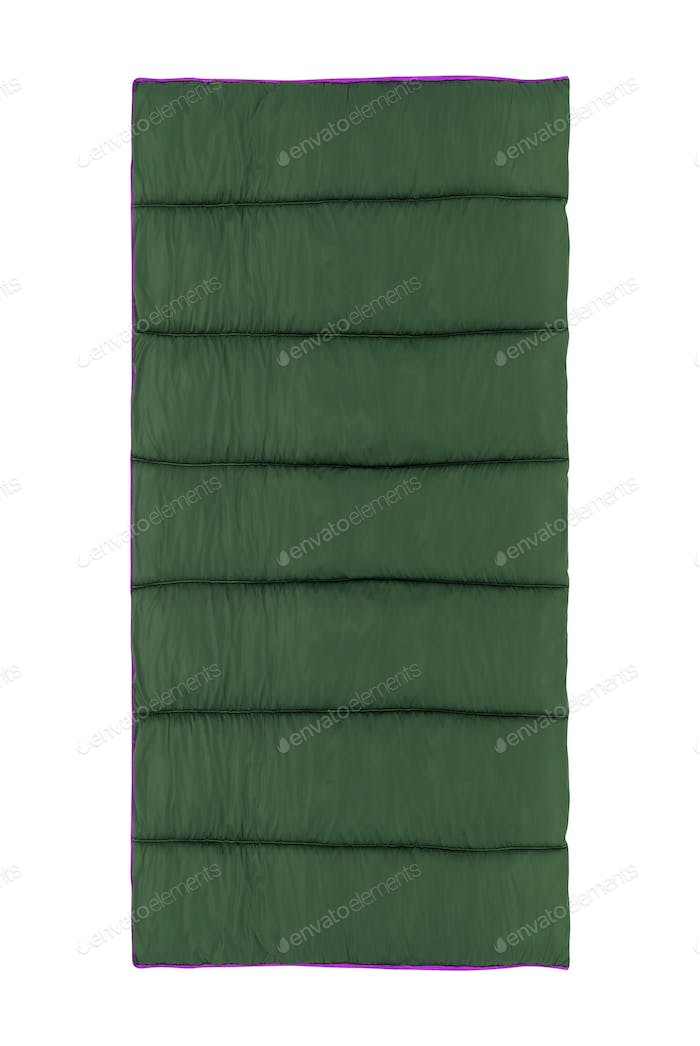 Sleeping Bag isolated on a white background