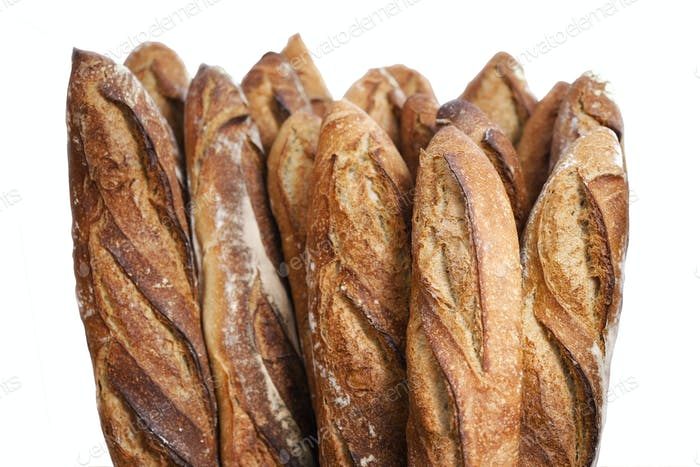 French baked breads