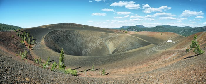 Crater of Cinder Cone, Lassen Volcanic National Park