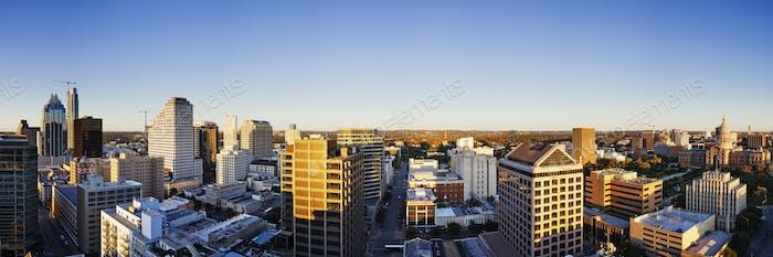 Panoramic City Skyline