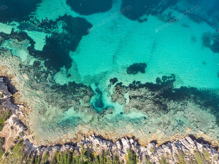 Schöne Mittelmeerküste