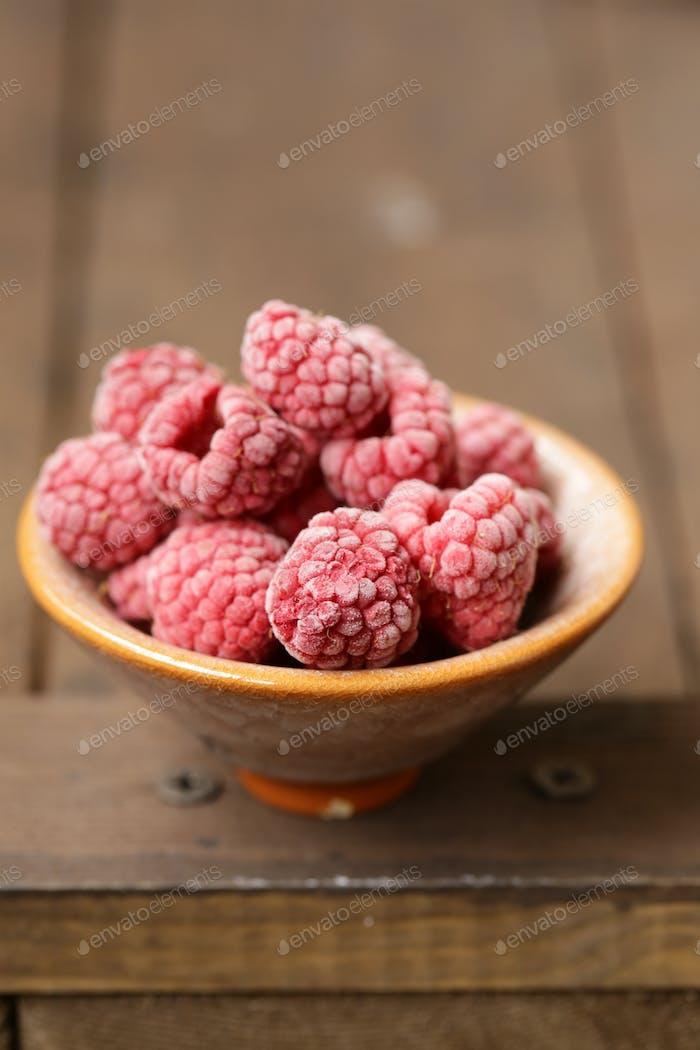Frozen Organic Raspberries
