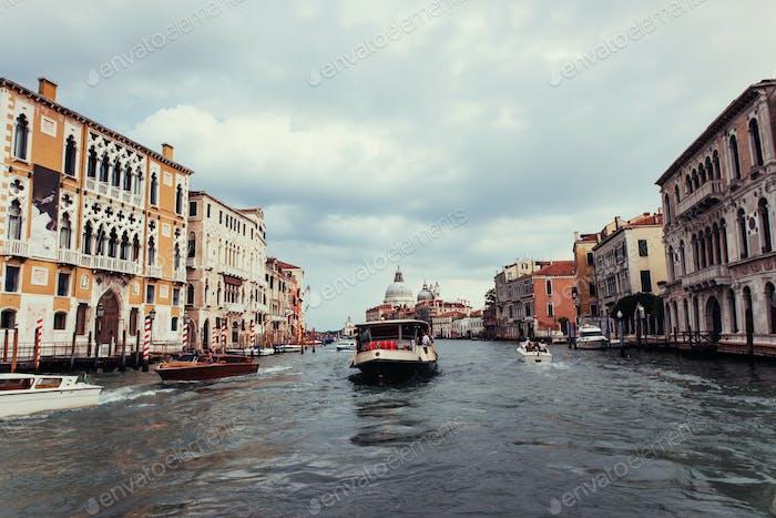 Stadtbild Venedig ist ein sehr berühmter Tourist
