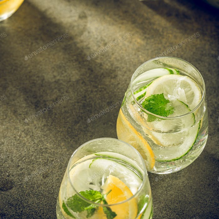 Летние здоровые коктейли