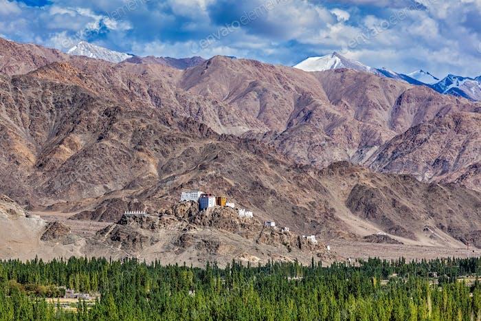 Thiksey-Kloster. Ladakh, Indien