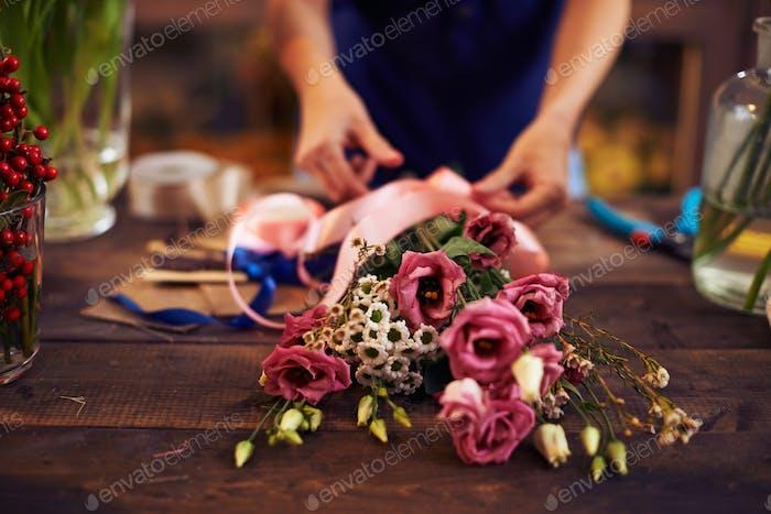 Trockener Blumenstrauß