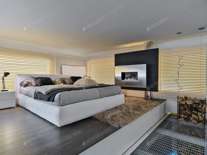 Interiors of the Modern Bedroom