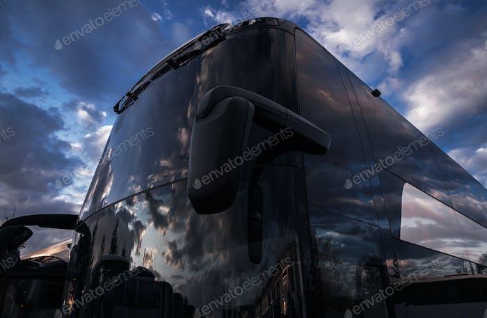 International Coach Bus Travel Industry Vehicle