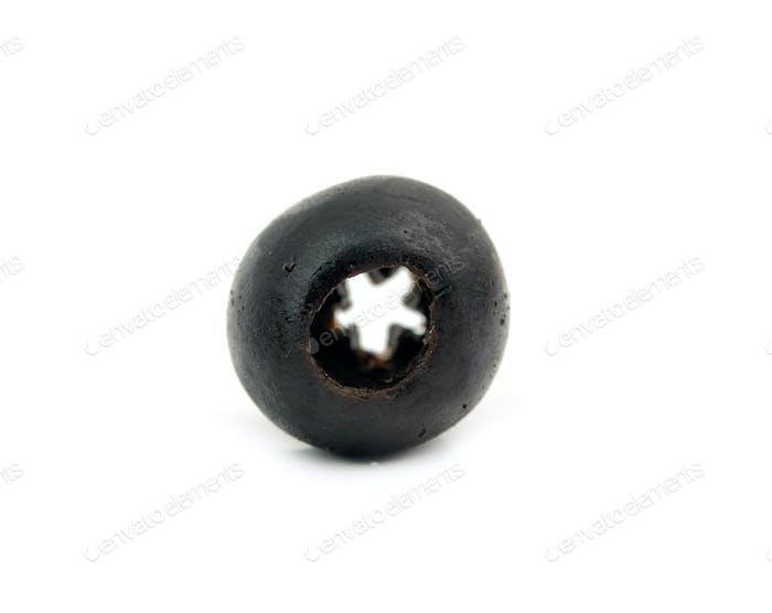 black olive isolated