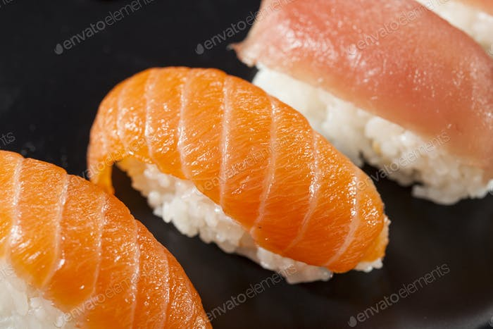 Healthy Japanese Nigiri Sushi