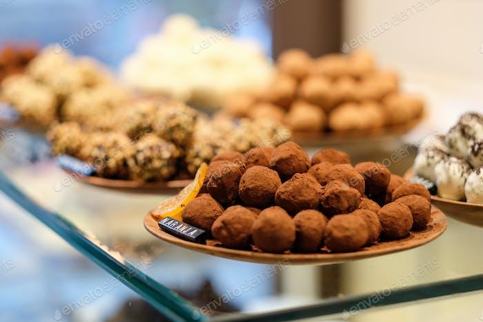 Chocolate truffle candies