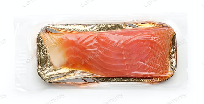Fillet of salmon