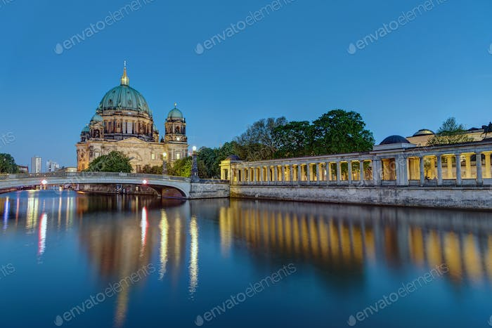 The Berlin Dom at dusk