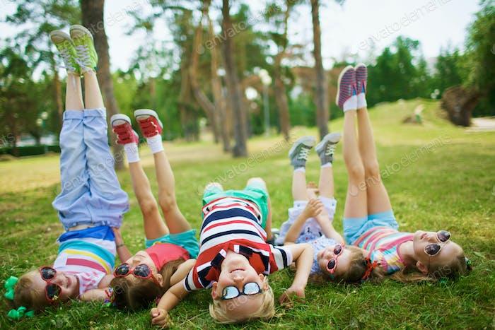 Niños en el tiempo libre