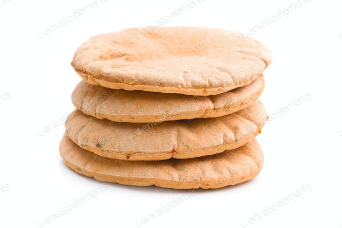 Tasty pita bread.