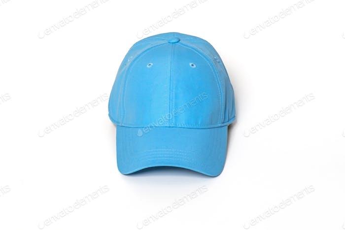Light blue adult golf or baseball cap