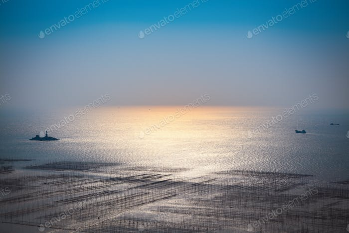 beautiful seascape background