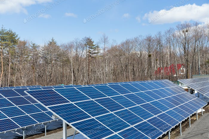 Solaranlage Station