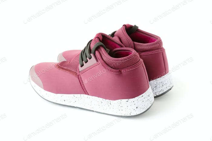 Isolated Unisex Modern Style Sport Shoes