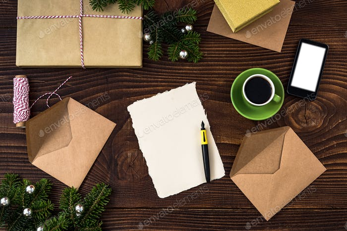 Letter to Santa or New Year resolutions