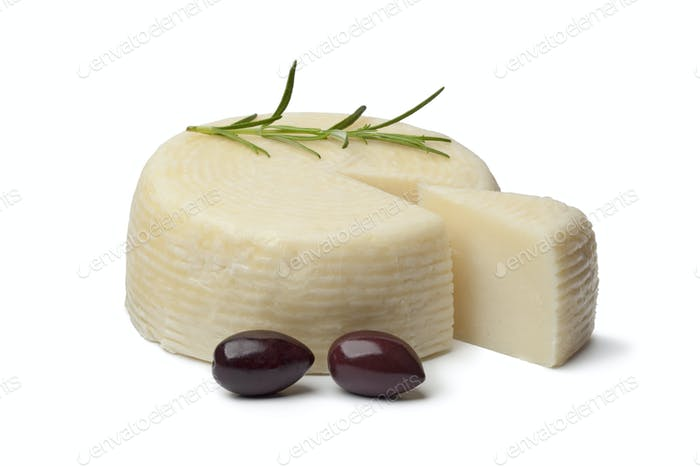 Greek cheese with Calamata olives