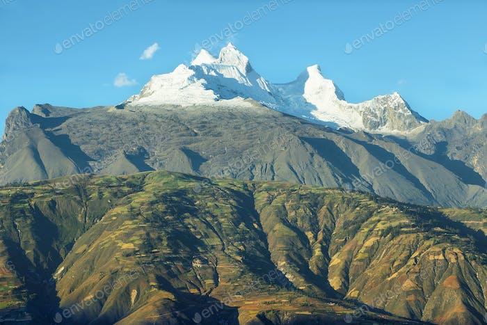 Huandoy peaks, Peru