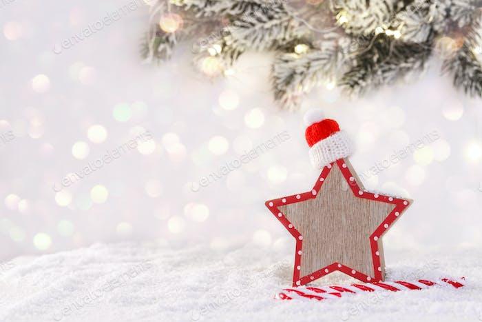 Weihnachtskarten-Vorlage