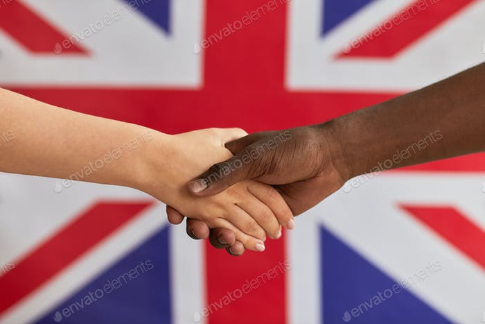 Business British handshake