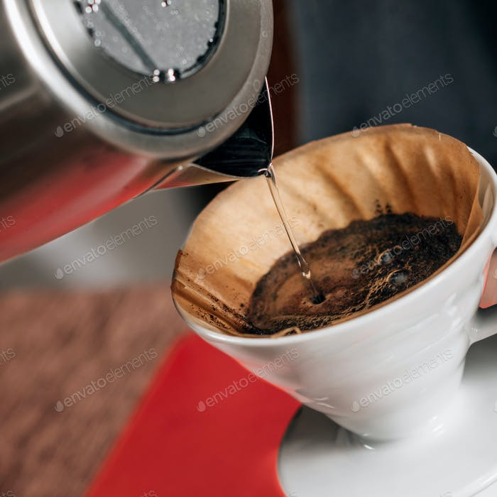 Filter Coffee Making