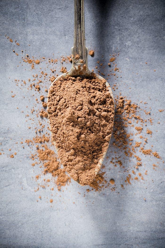 Cocoa powder.
