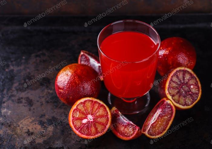 Vitamingetränk für Immunität gegen das Virus.