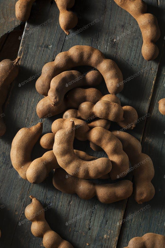 Organic Raw Brown Tamarind