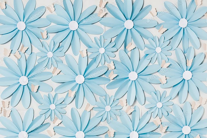 Flowers background photo wall