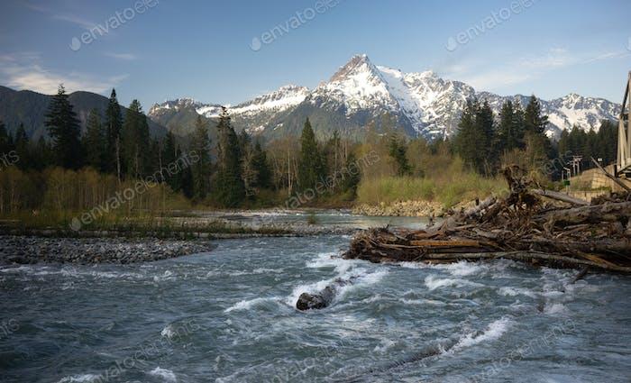 White Horse Mountain Darrington Washington North Cascades