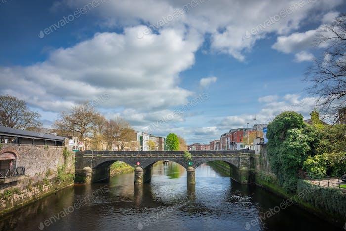 Old stone bridge in Limerick