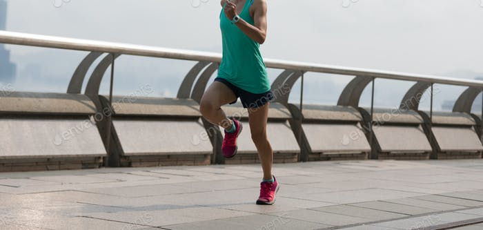 Running at Hong Kong