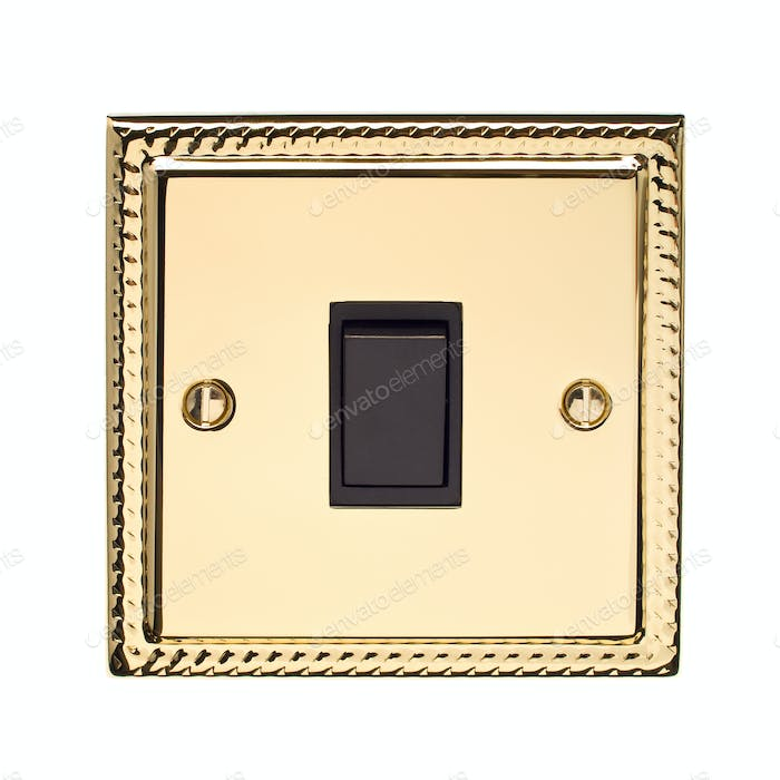 Gold Light Switch