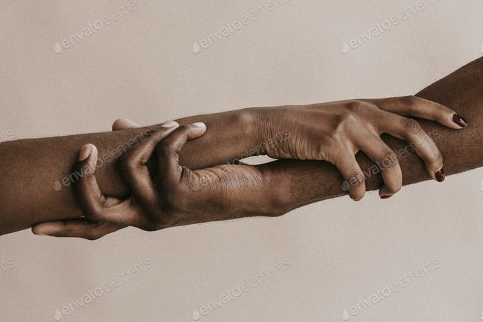 Arms holding on