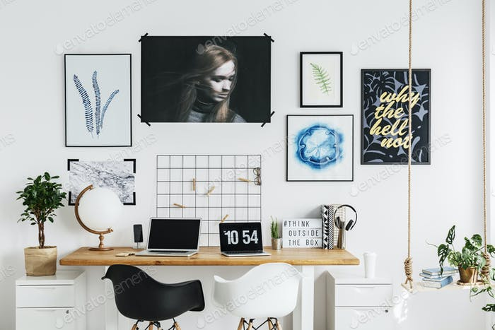 Designer's home office