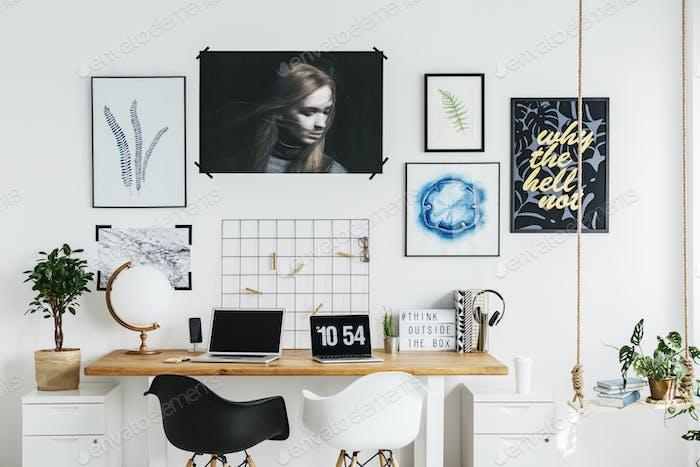 Home-Office des Designers