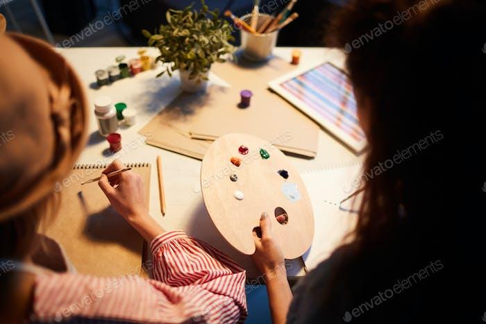 Painting individually