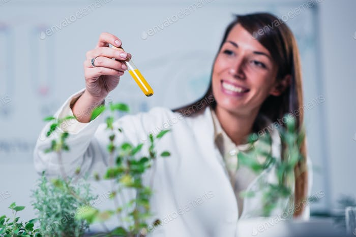 Homeopathy lab.