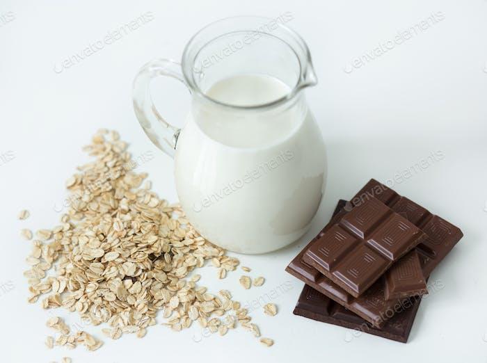 Kanne mit Milch