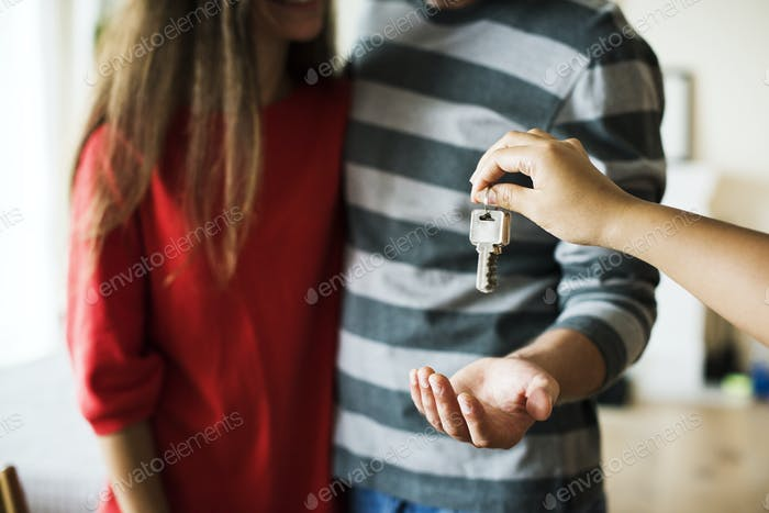 Couple bought new house