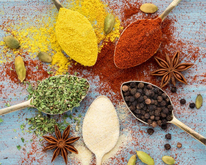 Milled spices