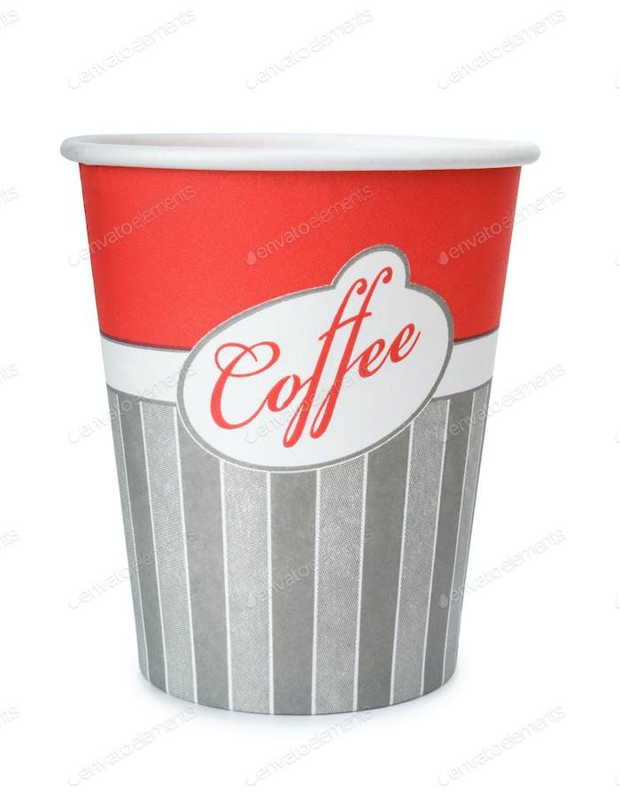 Einweg-Kaffeetasse aus Papier