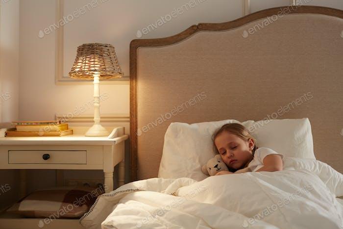 Kind schlafend